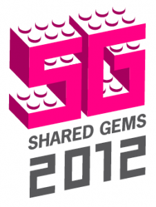 Shared Gems 2012 logo