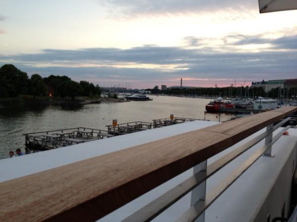 Heinäkuinen Helsinki illalla. Kuva: Sanna Ristaniemi