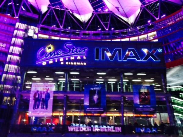IMAX-huipputekniikan leffateatteri Berliinissä.